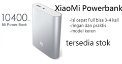 Powerbank XIAOMI  ASLI 10400