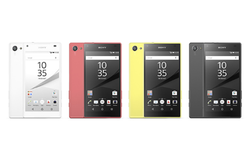 Sony Xperia Z5 compact (open