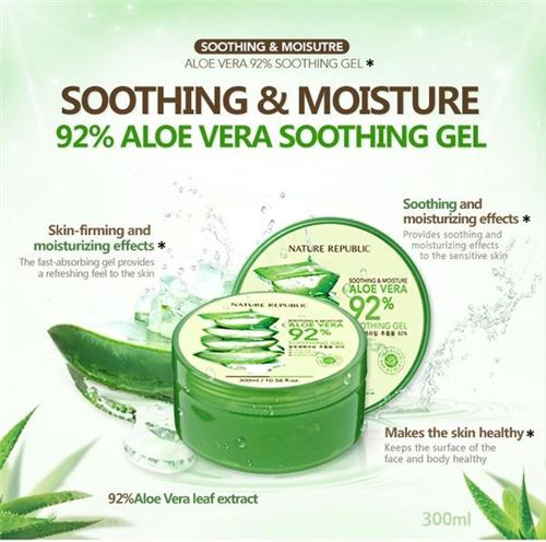 Gel Aloe Vera KOREA (Nature