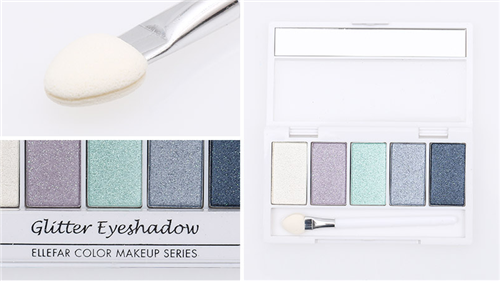 Shimmery Eyeshadow 5warna (J