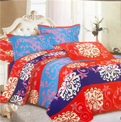 Sprei set Maroon dan Nancy
