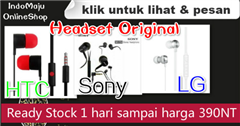 Headset Original HTC, Sony,