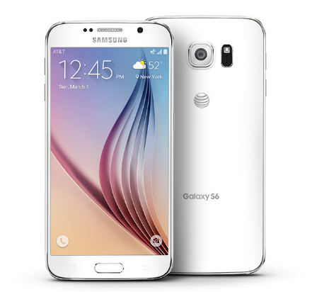 Samsung galaxy S6 32gb putih